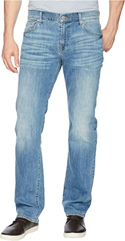 7 For All Mankind Standard Classic Straight Leg Luxe Performance in Valhalla
