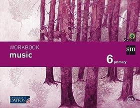 Music. 6 Primary. Savia. Workbook - 9788415743866