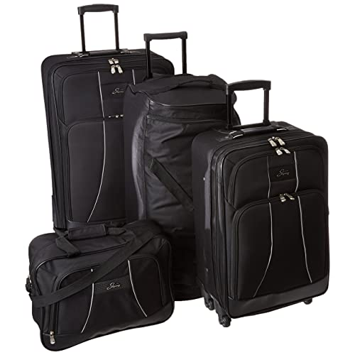 4ff26f965 Skyway Luggage Seville 5-Piece Travel Set, Black
