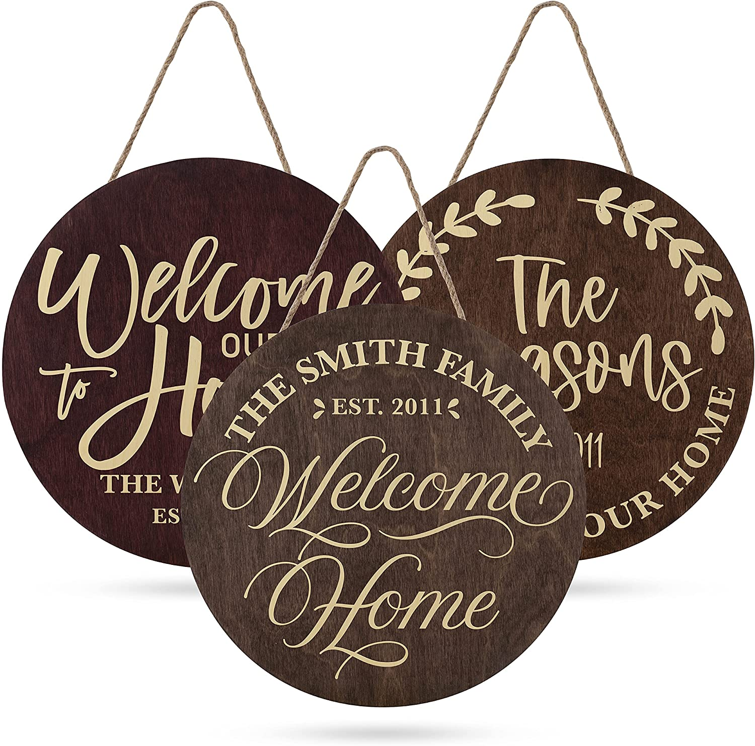 Welcome Signs for Front Door Outstanding w Porch Family Personalized Sign Product