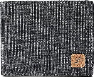 Minimalist Fabric Wallet Bifold RFID Blocking