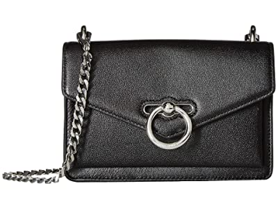 Rebecca Minkoff Jean Crossbody (Black) Cross Body Handbags