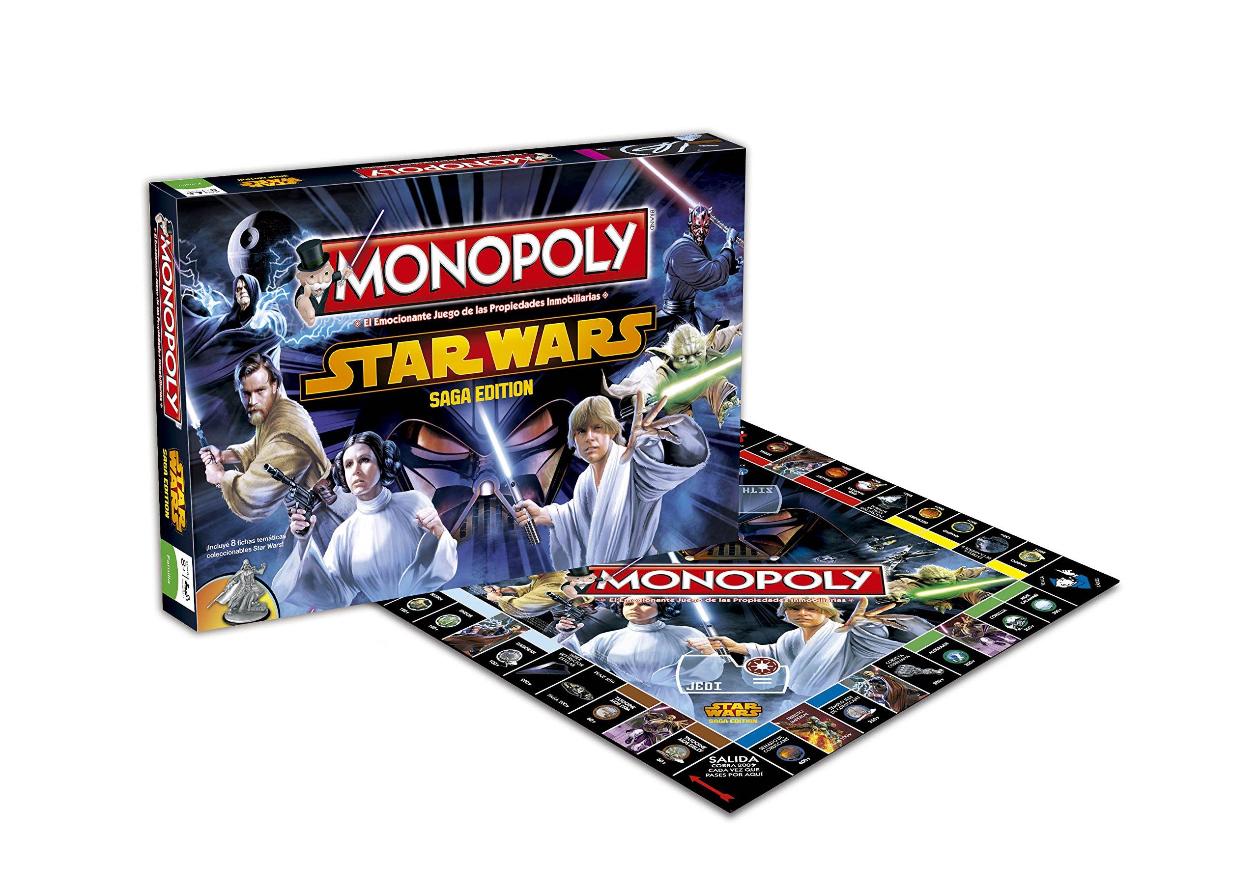 Star Wars Eleven Force 82219 - Monopoly: Amazon.es: Juguetes y juegos