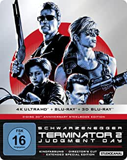 Product Image Terminator 2 30th Anniversary Steelbook Edition (4K Ultra HD + Blu-ray 2D + Blu-ray 3D)