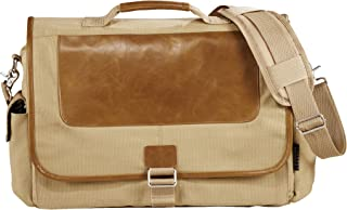 Field & Co. Cambridge 17in Laptop Messenger Bag (UK Size: 43 x 12.7 x 31.7cm) (Beige)