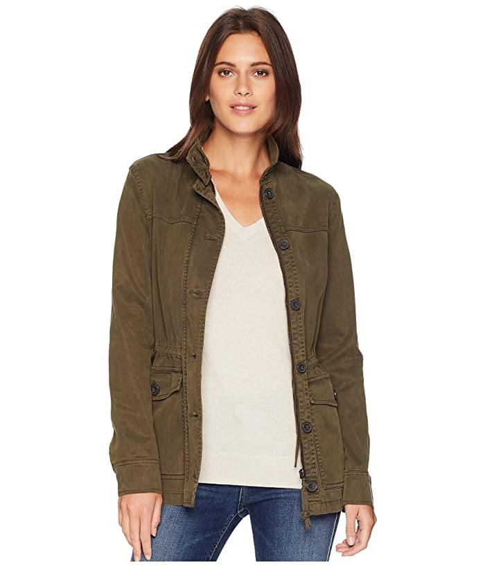 Lucky Brand  Utility Jacket (Olive Night) Womens Coat