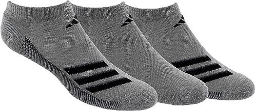 adidas Men's Climacool Superlite No Show Socks (3 Pack)