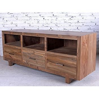 opium outlet - Aparador/cómoda/Mueble bajo para televisor, de Estilo Colonial, de Madera de Teca: Amazon.es: Hogar
