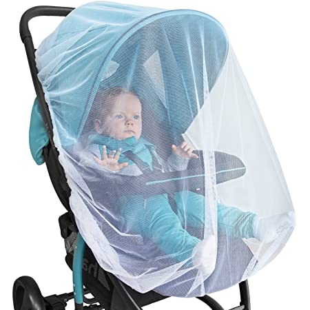 Baby Mosquito Net for Stroller, Car Seat & Bassinet – Premium Infant Bug Netting for Jogger, Carrier & Pack N Play – Toddler Canopy & Gift Packaging