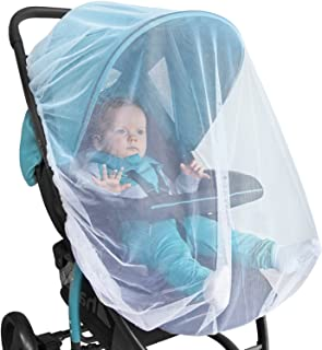 Baby Mosquito Net for Stroller, Car Seat & Bassinet – Premium Infant Bug Netting for Jogger, Carrier & Pack N Play – Toddl...