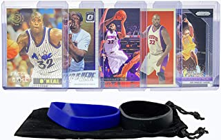 Shaquille O'Neal Basketball Cards Assorted (5) Bundle - Orlando Magic, Los Angeles Lakers Trading Card Gift Pack