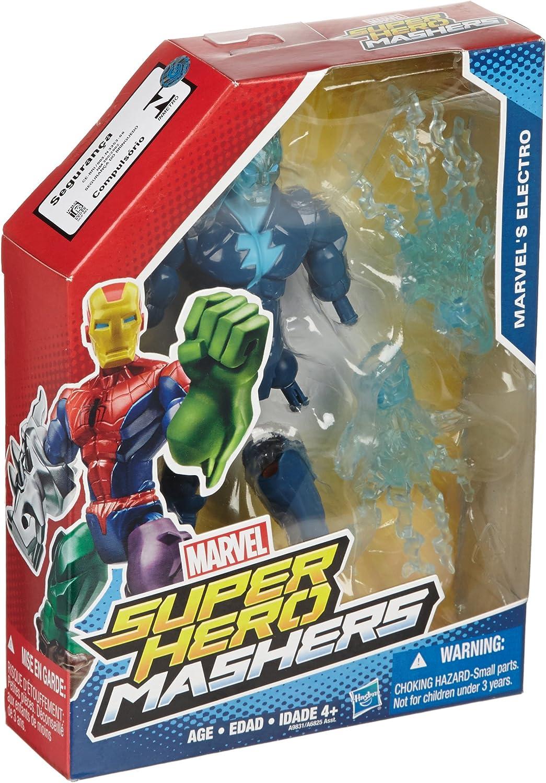 compras de moda online Marvel Marvel Marvel súper Hero Mashers Electro 6 Acción Figura by súper Hero Mashers  precios bajos todos los dias