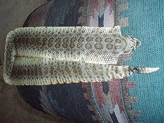 Rattle Snake Skin Taxidermy Prairie Rattler Hide Soft tanned bow wrap blanks art 40 in.