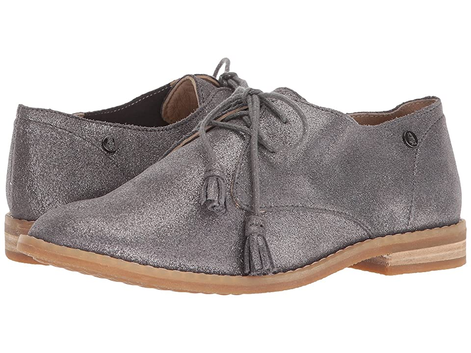 Hush Puppies Chardon Oxford (Dark Grey Metallic Suede) Women