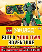 LEGO® NINJAGO: Build Your Own Adventure: With Lloyd Minifigure and Exclusive Ninja Merch, Book Includes More Than 50 Buil...