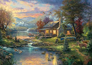 Pussel - Thomas Kinkade: Nature's Paradise (1000 bitar)