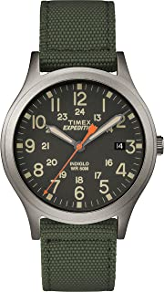 Unisex TW4B13900 Expedition Scout 36mm Green/Black Nylon Strap Watch