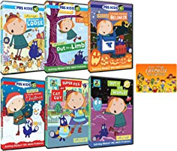 Peg + Cat: PBS TV Series Complete 22+ Episodes plus Special Features Collection