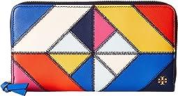 Tory Burch - Diamond Stitch Zip Continental Wallet