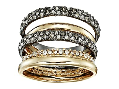 Alexis Bittar Pave Orbit Ring (10K Gold/Ruthenium) Ring
