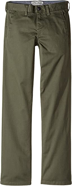 Billabong Kids Carter Chino Stretch Pants (Big Kids)