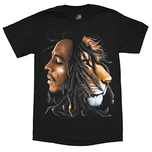 Bob Marley Ink Blot Juniors T-Shirt