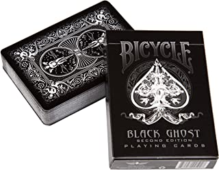 Ellusionist Bicycle Black Ghost Playing Cards - 2nd Edition