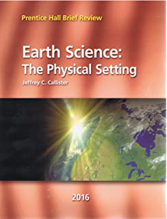 2016 Prentice Hall Brief Review Earth Science: The Physical Setting