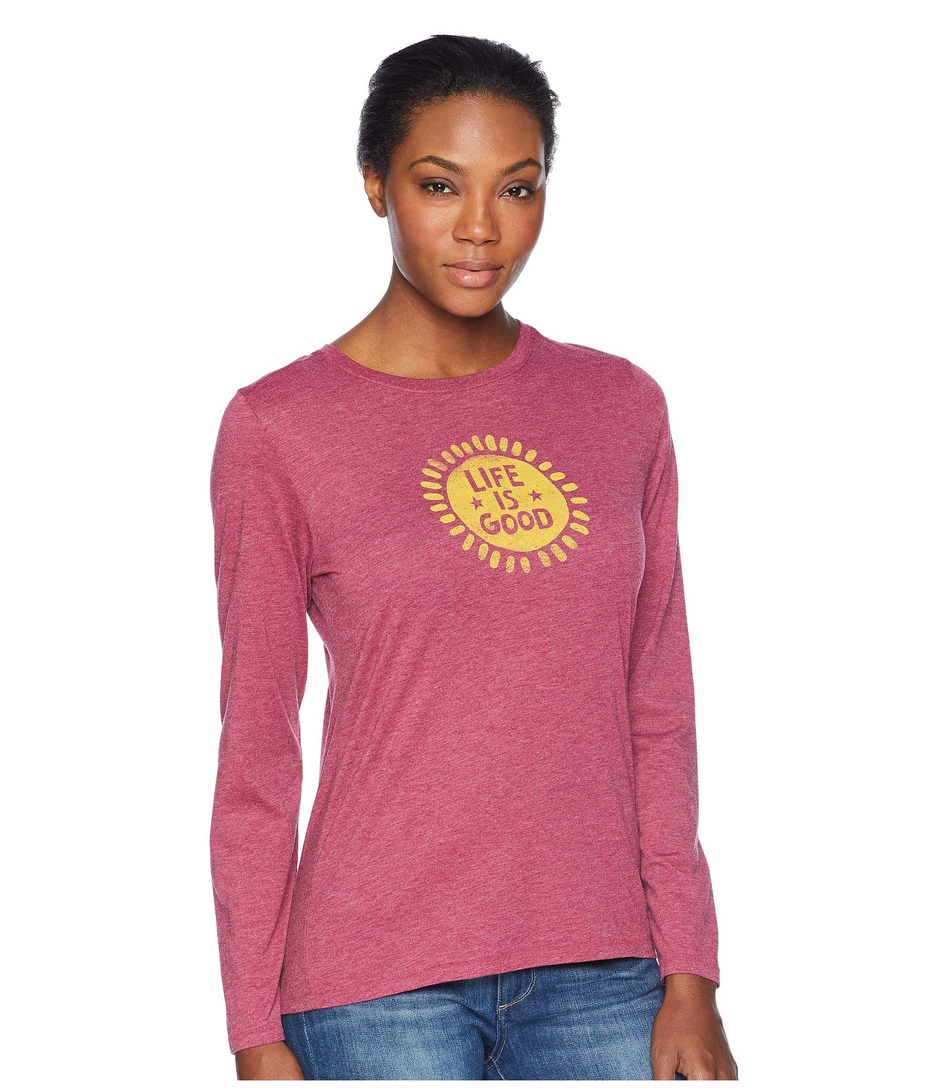 Cool Sun Is T Life Starry Good Cherry shirt Wild Long Sleeve ISqIw47C