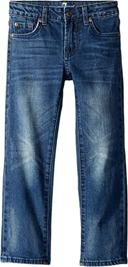 Standard Stretch Denim Jeans in Superstition (Little Kids/Big Kids)