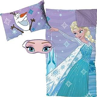 Jay Franco Frozen Let It Go 3 Piece Plush Sleepover Set
