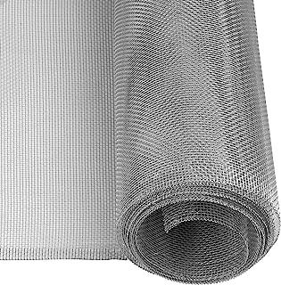 comprar comparacion Windhager mosquitera, Tejido de Aluminio, Robusta, Resistente, Plateada, 100 x 250 cm, 03621