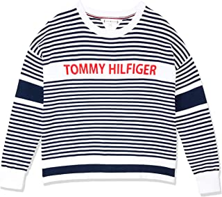 Tommy Hilfiger Kids Stripe Embroidered Logo Jumper