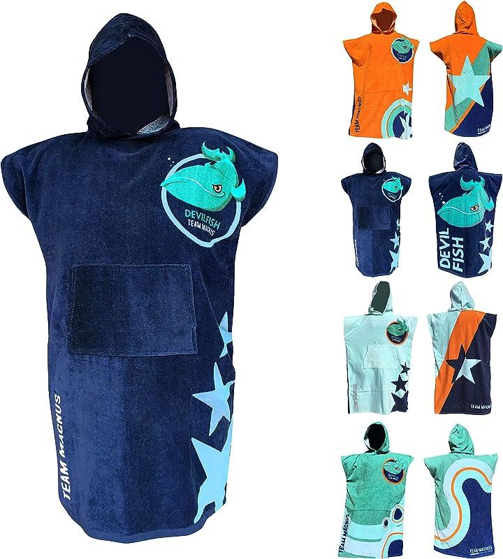 TEAM MAGNUS Kids Towel And Bathrobe Stylish Bath Towel Design For Kids 4 5 6