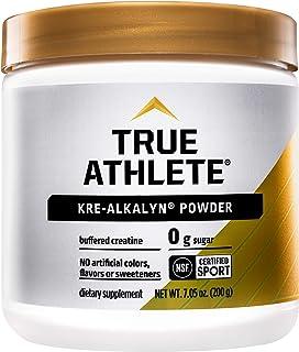 True Athlete Kre Alkalyn Helps Build Muscle, Gain Strength Increase Performance, Buffered Creatine NSF Certified for Sport...