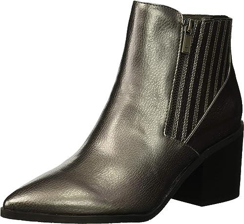 Kenneth Cole Reaction Cue Up Block Heel Pointed Toe Ankle Stiefelie, Bota al Tobillo para damen