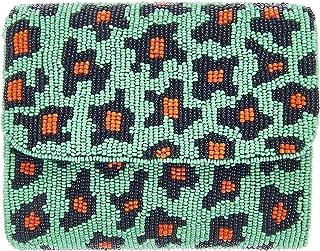From St Xavier Women's Jungle Leopard Clutch, Leopard Print, One Size