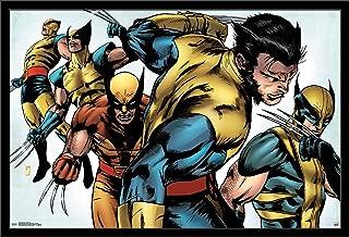 Trends International Marvel Comics - Wolverine - Evolution Wall Poster, 22.375