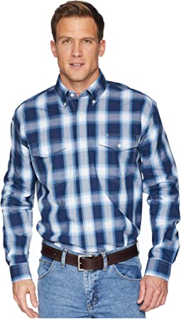 1677 Navy Plaid