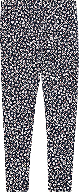 Polo Ralph Lauren Kids - Floral Stretch Cotton Leggings (Little Kids/Big Kids)