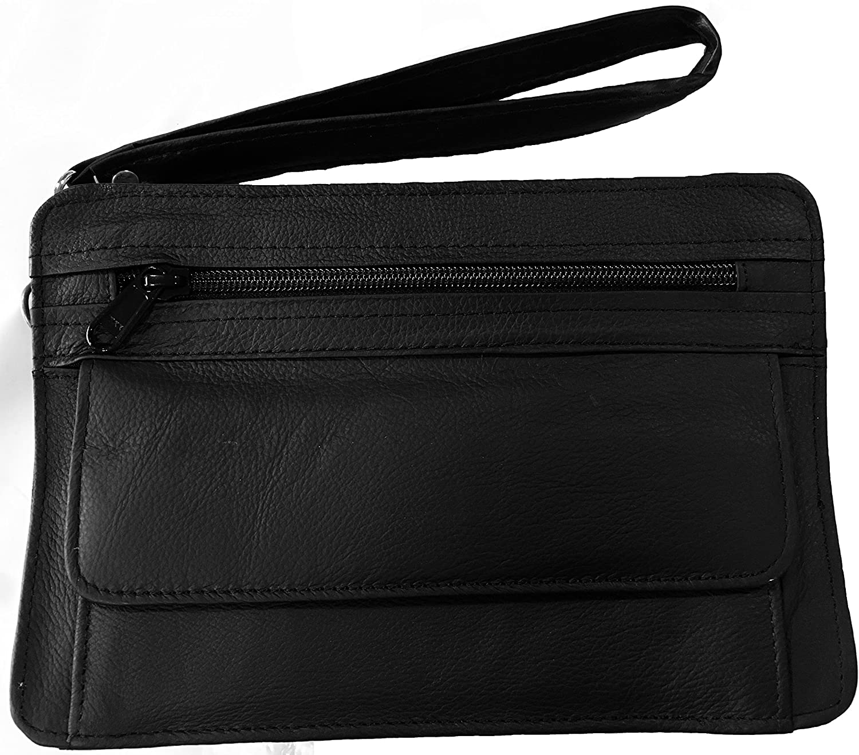 Bama Belts and Leathers Concealment Handbag CCW Tote Shoulder Bag | Gun Purse | Black
