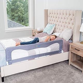 Bed Rails for Toddlers &Infants – Kids Bed Safety Guard Rail –Toddler Bed Rails for Twin, Full Size, Queen &King Mattress...