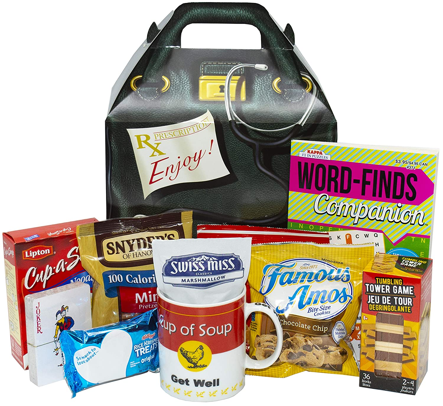 Sales Deluxe Get Well Package Gift Care Kansas City Mall