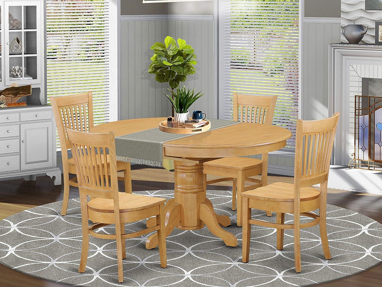 Buy East West Furniture Kitchen table set 9 Wonderful dining room ...