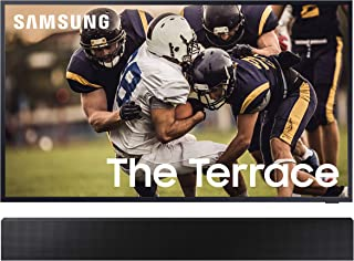 """Samsung QN55LST7TA The Terrace 55"""" Outdoor-Optimized QLED 4K UHD Smart TV with a Samsung HW-LST70T 3.0 Channel The Terrace..."""