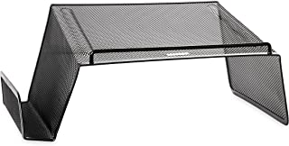 Rolodex Mesh Collection Desktop Phone Stand, Black (22151)
