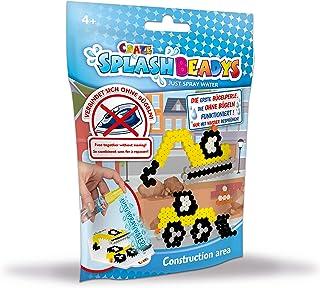 CRAZE Toys 17647 CRAZE SPLASH BEADYS Foilbag zestaw startowy pereł wtykowych do majsterkowania, różne motywy 17647, wielok...