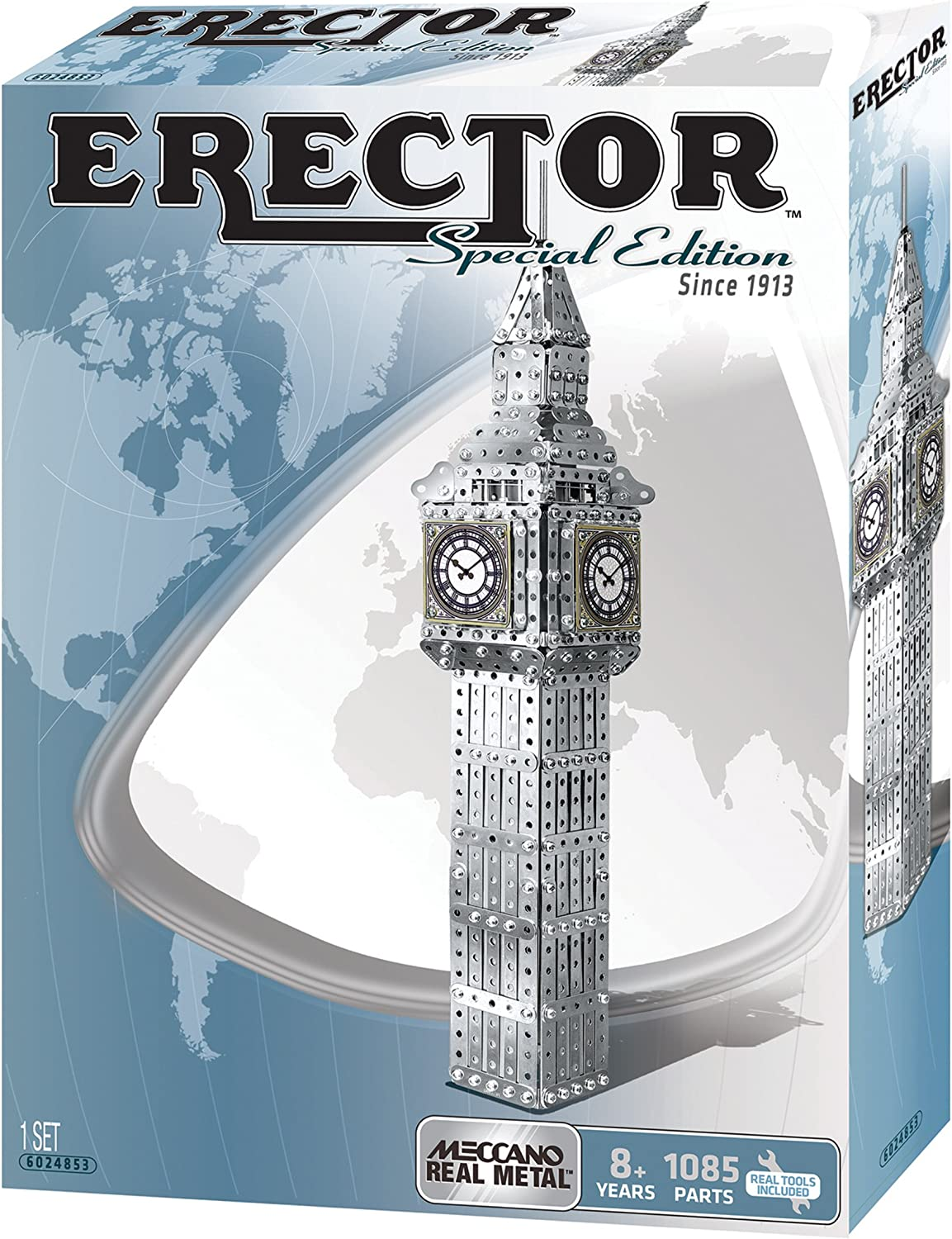 Meccano Erector Big Ben Building Kit (Special Edition)