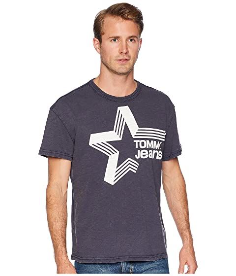 T Tommy Star Jeans Shirt Retro 7aa80w