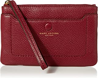 Marc Jacobs Damen Empire City Wristlet Wrislet, Sultry Red, Small